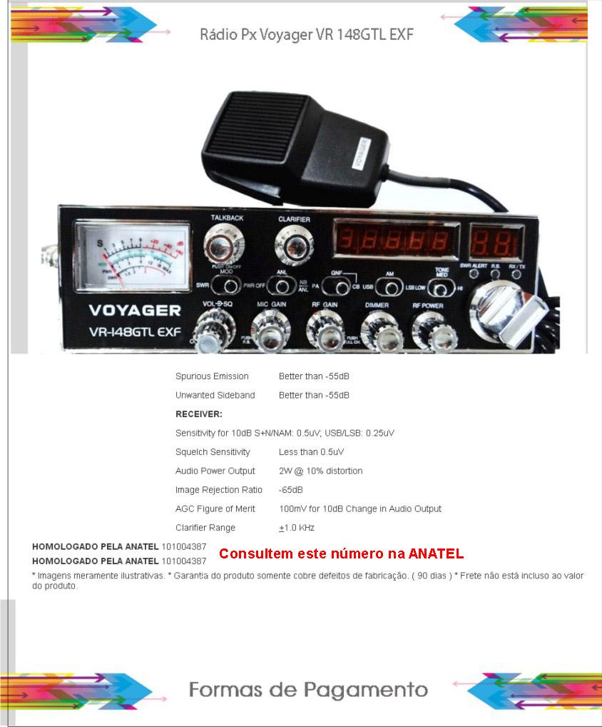 Radio-Voyager-VR148-GTL-EXF-Não-é-homologado-copy