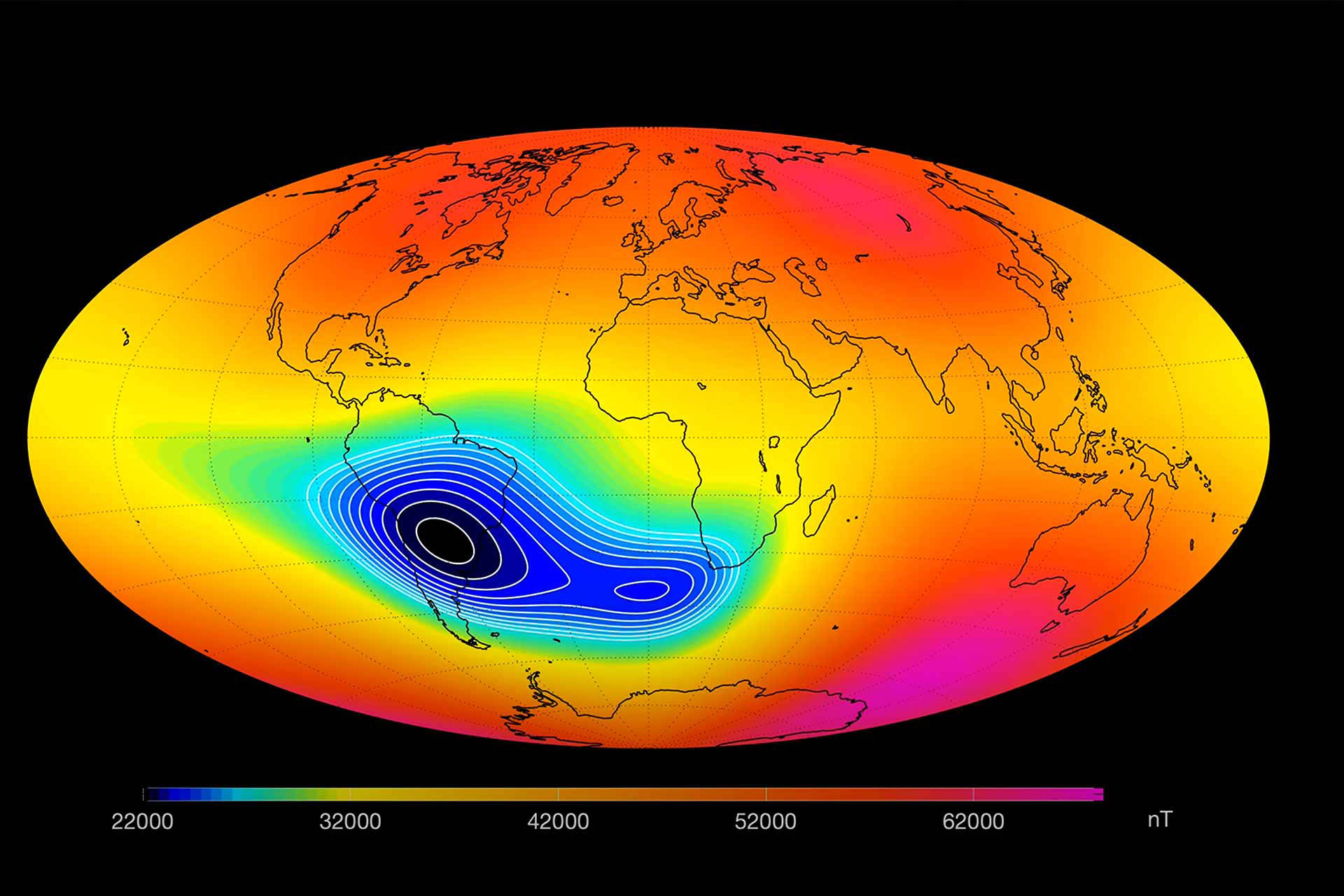 ESA-magnetic-field-is-weakening-between-Africa-and-South-America-Propagacao-aberta